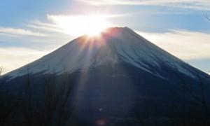 富士山の朝日(20160102)